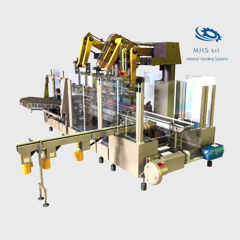 CARDBOARD PACKAGING AUTOMATION